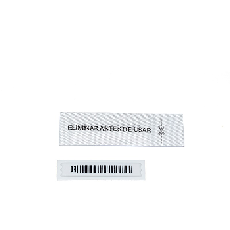 EG-C02 EAS Anti Theft Retail Magnetic Security Woven Labels