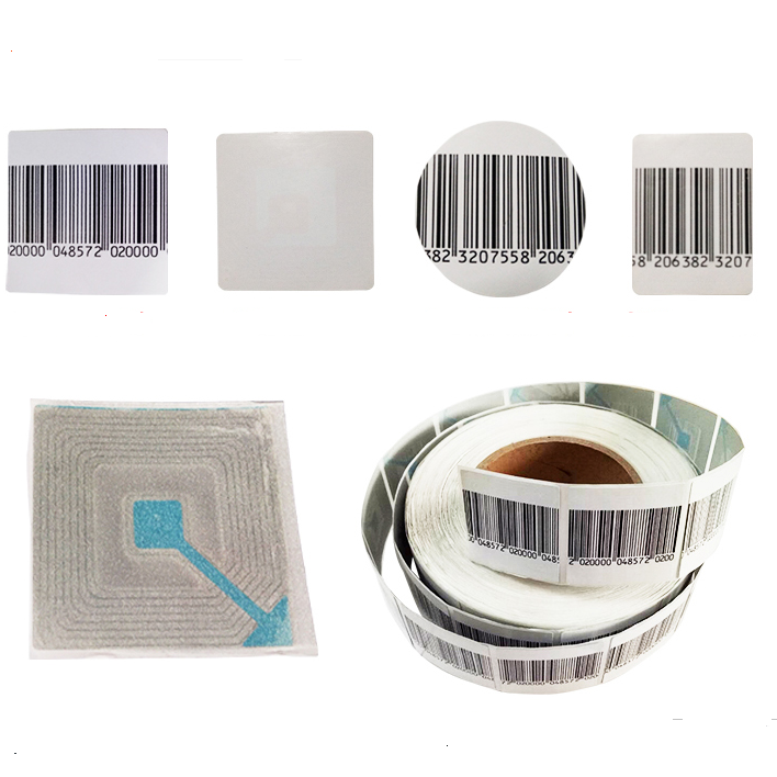 EG-RL3030 Rf 8.2mhz Barcode 30x30mm Label