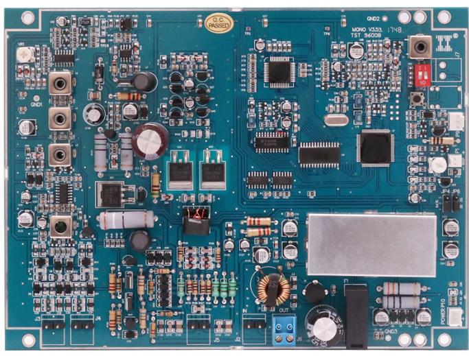 RF V3.93 8.2mhz eas rf anti-theft main mono board Strong anti-interference dual board tx rx eas rf system