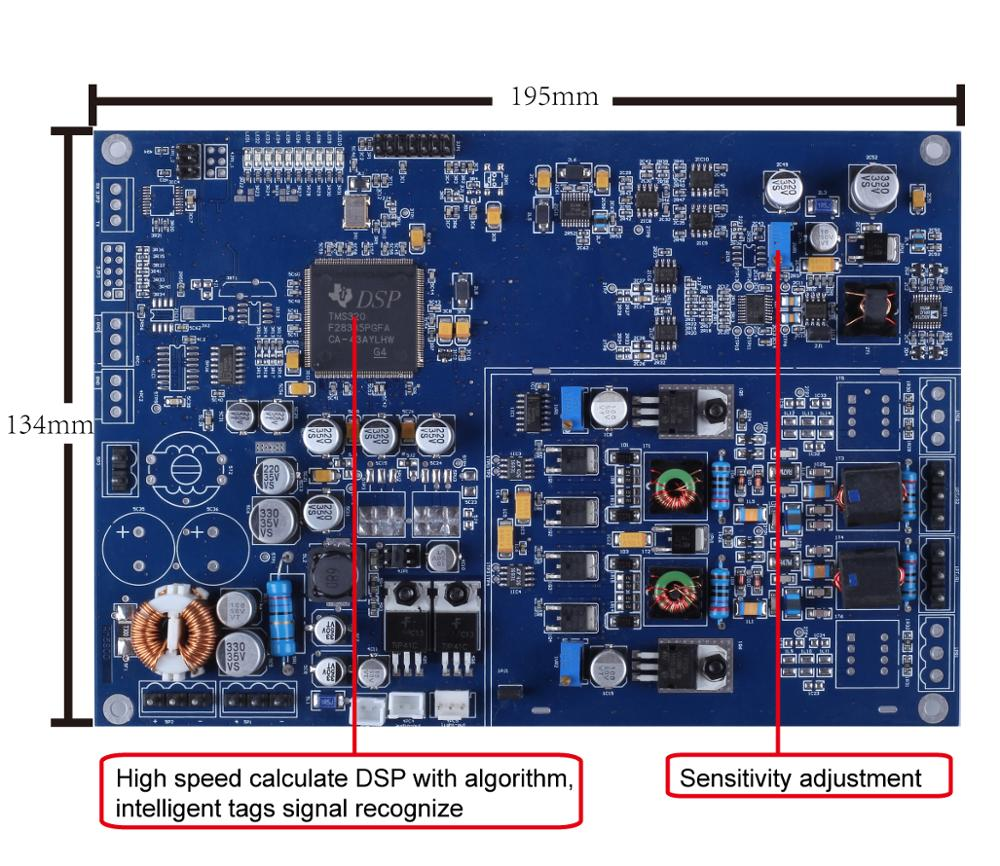 5200 EAS RF MONO Security Alarm System 8.2Mhz Mainboard Stable Sensitive Electronic Board