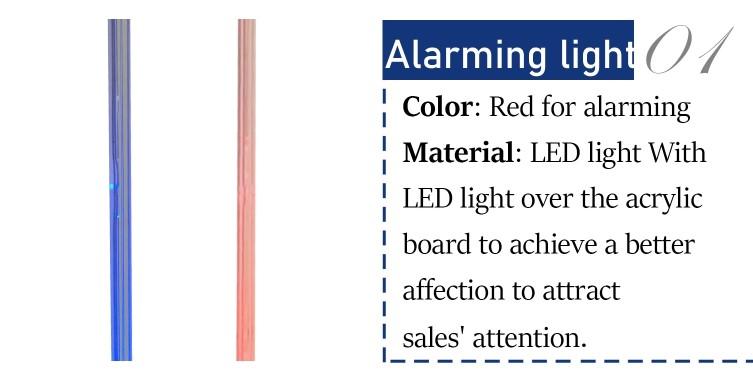 EG-RF10  rf system supermarket alarm system security scanner door