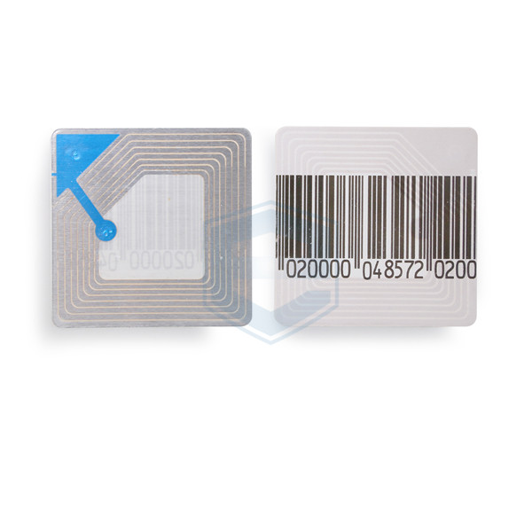 EG-RL4040 EAS Anti Theft RF 8.2MHz 4*4cm Barcode Soft Label Sticker