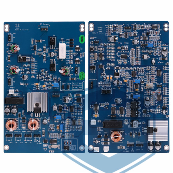 RF 3920 TX&RX BOARD 8.2MHz RF EAS Alarm Circuit Transmitter And Receiver PCB Main Board